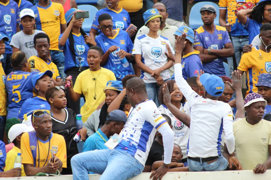 Township Rollers Fans at Makwengwe`s farm