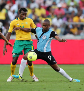 CAF competition between Botswana and South Africa
