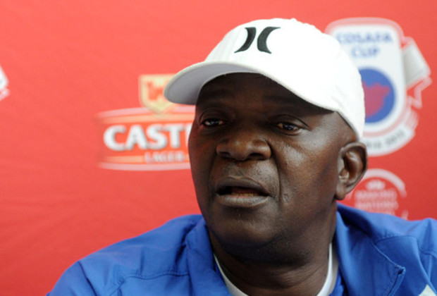 Stanley Tshosane during a press coference